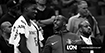 Clint Capela quiere Rockets-Warriors en 2da ronda, Chris Paul reacciona.