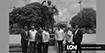 Desvelizan estatua de Jack Veneno en el Parque Eugenio María de Hostos