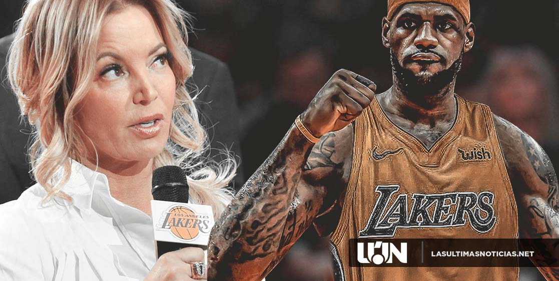 Jeanie Buss de los Lakers le piden intercambiar a LeBron James.