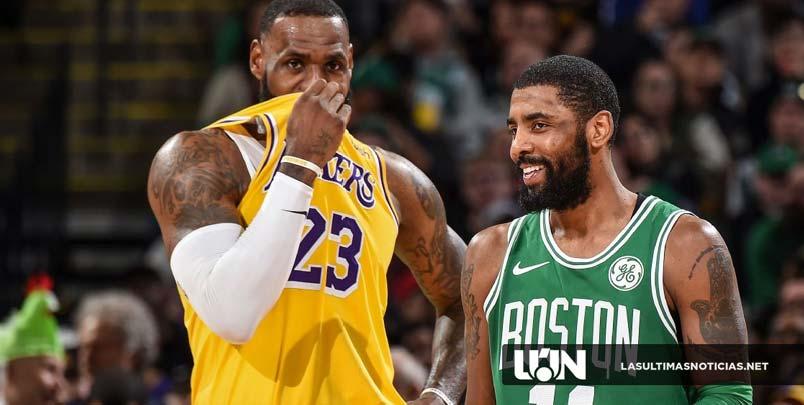 """Kyrie Irving : """"más abierto"""" a unirse a los Lakers"""