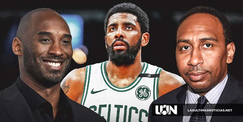 Stephen A. Smith dice que Kyrie Irving ha estado hablando con Kobe