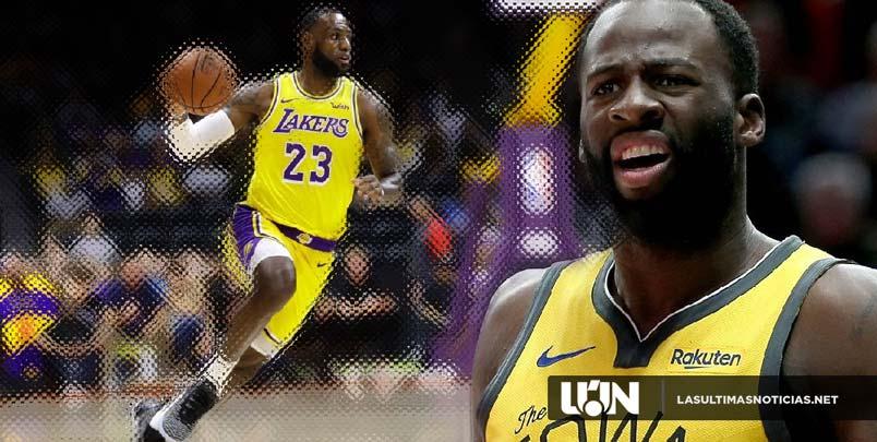 Draymond Green admite que es extraño que los Lakers y LeBron James no esté en los playoffs