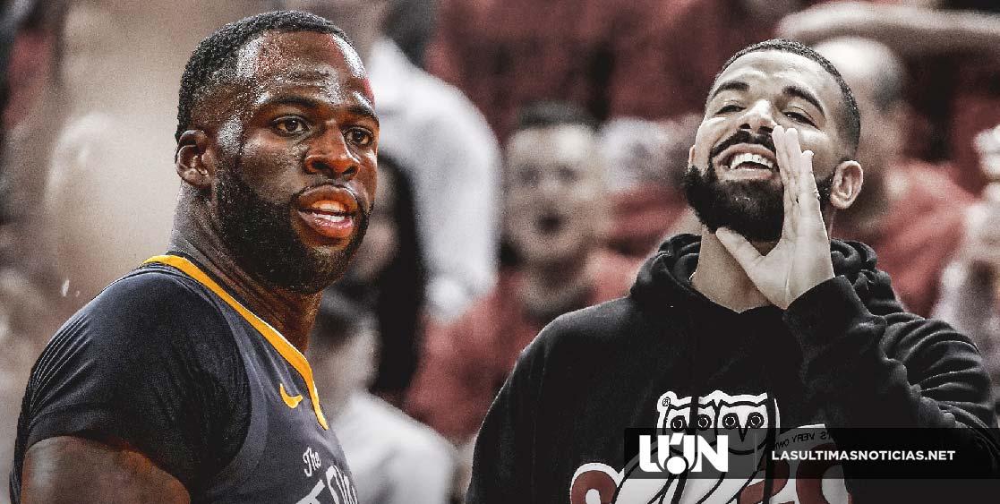 "Drake llama ""basura"" a Draymond Green al salir de la cancha"