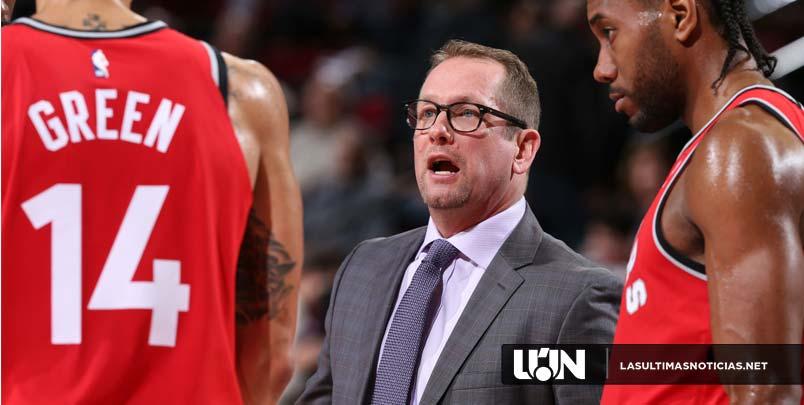 """Nick Nurse, los Raptors pueden darle a Kawhi Leonard un """"buen trato"""""""