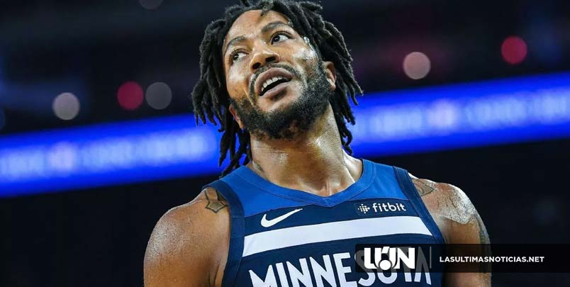 "Analista de la NBA dice que es ""muy posible"" que los Lakers persigan a Derrick Rose."