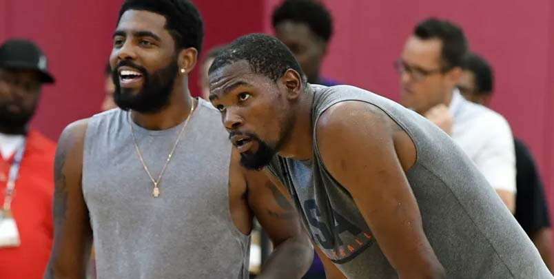 Firmar a Kyrie Irving sin Kevin Durant es cuestionable