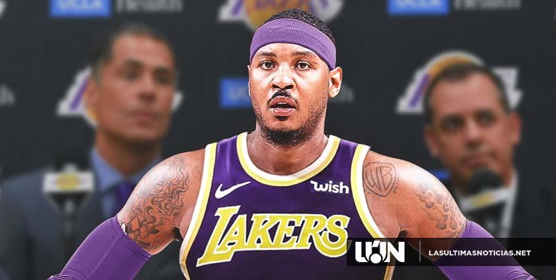 RUMOR: La NBA ven a los Lakers como el destino más probable de Carmelo Anthony