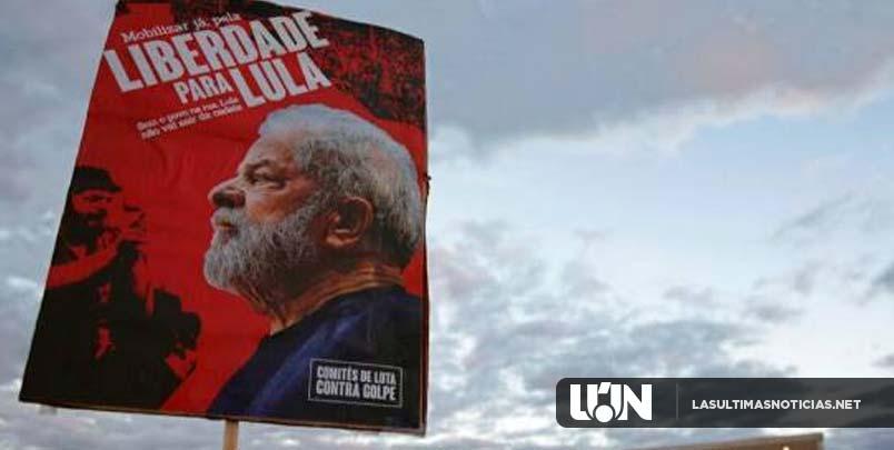 Justicia brasileña niega otra vez libertad a Lula da Silva