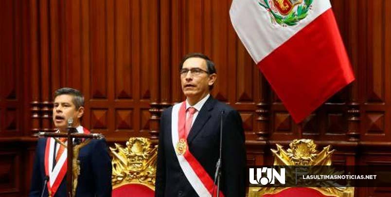 Presidente de Perú se despoja de la inmunidad para que lo investiguen por corrupción