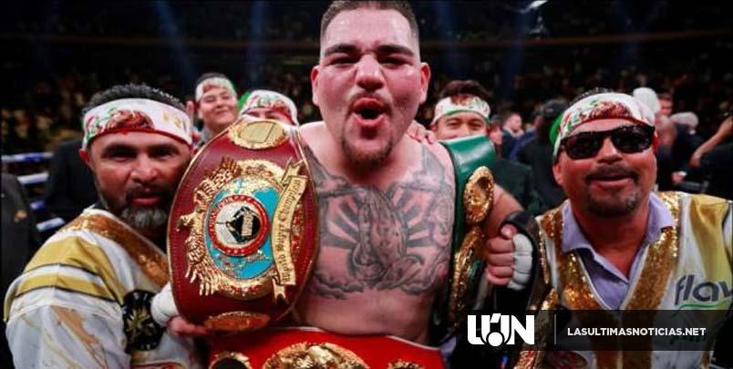 Ruiz sorprende al vencer a Joshua, primer campeón mexicano del mundo peso completo