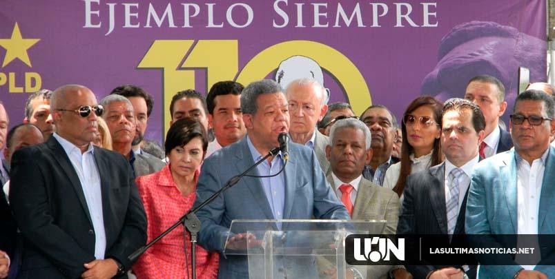 Leonel pide a peledeístas poner intereses nacionales por encima de los personales