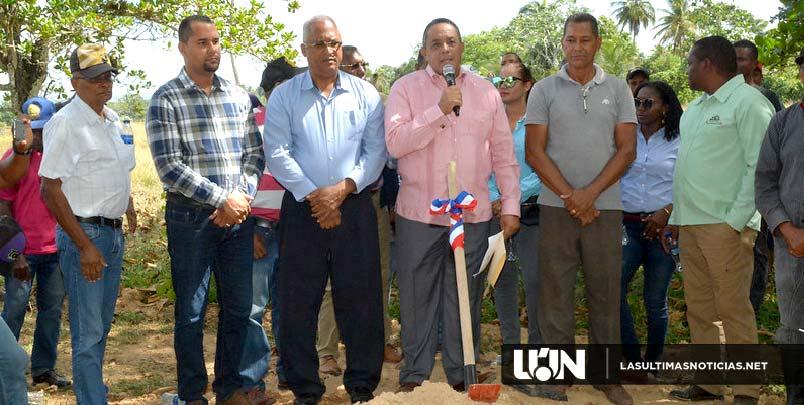 En María Trinidad Sánchez, Gobierno inicia construcción Centro de Acopio Cacao Orgánico impactará a más de 150 productores
