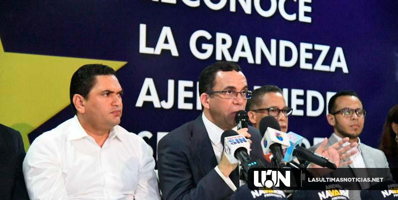 Andrés Navarro dice que Danilo Medina se ha constituido en un auspiciador del relevo en el PLD