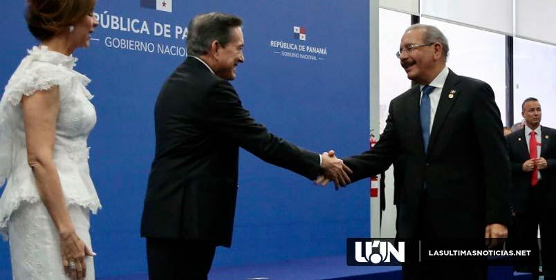 Danilo Medina participa en toma de posesión de Laurentino Cortizo, nuevo presidente de Panamá