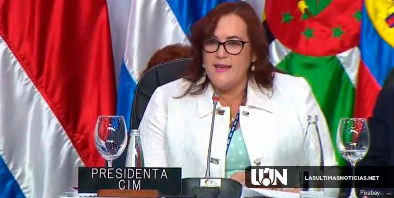 Ministra Camilo denuncia en Asamblea de la OEA intentos por retroceder avances de los derechos de la mujer en las Américas