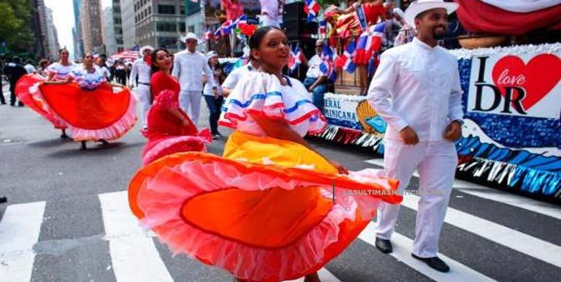 Dominicanos celebran con desfile en Nueva York sus aportes a EEUU