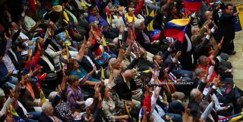 Constituyente venezolana repudia bloqueo de EEUU y pide el rechazo de la ONU