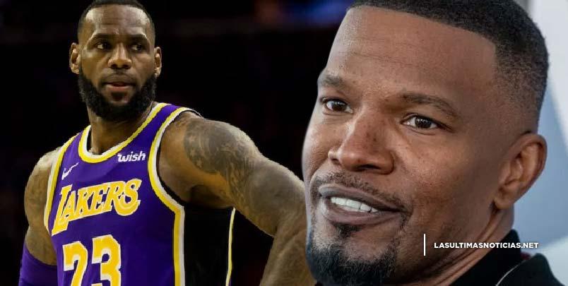 Jamie Foxx detalla por qué LeBron James de los Lakers es el GOAT