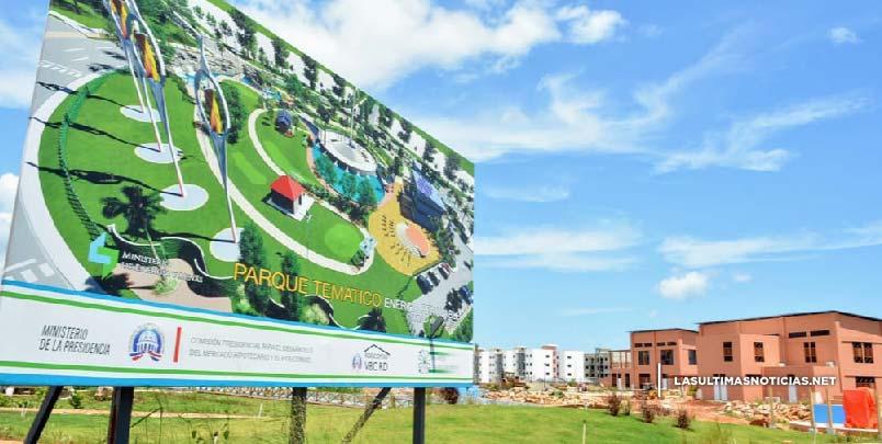 Parque Energía Renovable Ciudad Juan Bosch con un 90% de avance