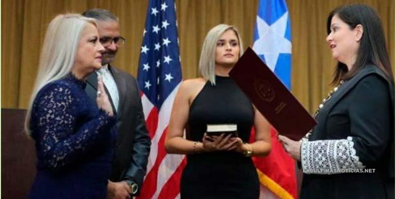 Secretaria de Justicia jura como la nueva gobernadora de Puerto Rico