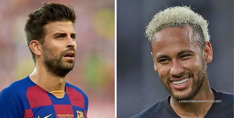Piqué dice que es Neymar quién debe decidir sobre su regreso al Barcelona
