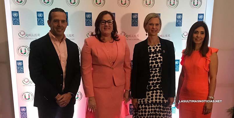 Ministerio de la Mujer y PNUD presentan página web de IGUALANDO RD
