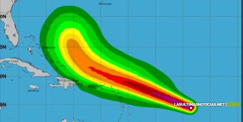 Aguaceros se extenderán a casi todo el país y continúan vigilando la tormenta Jerry