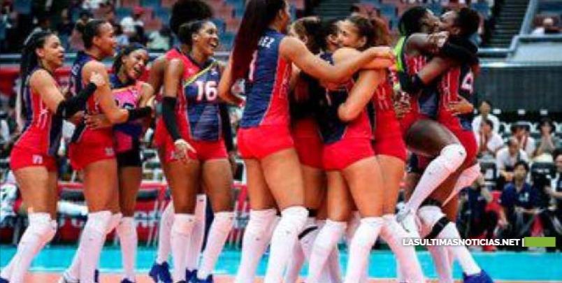 Las Reinas del Caribe vencen a Serbia, actual campeón mundial en la Copa del Mundo