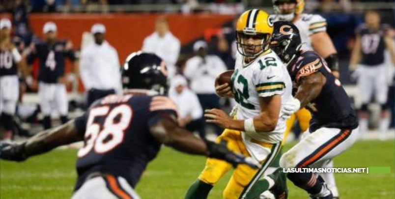 Aaron Rodgers y la defensiva llevan a Packers a triunfo ante Bears