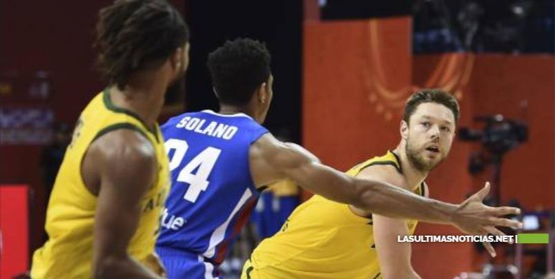 Republica Dominicana no puede con Australia en Mundial de baloncesto