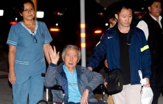 El expresidente de Perú Alberto Fujimori es hospitalizado