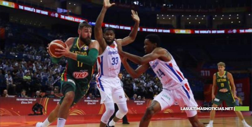 Lituania no da opción a Dominicana y lo despide del Mundial