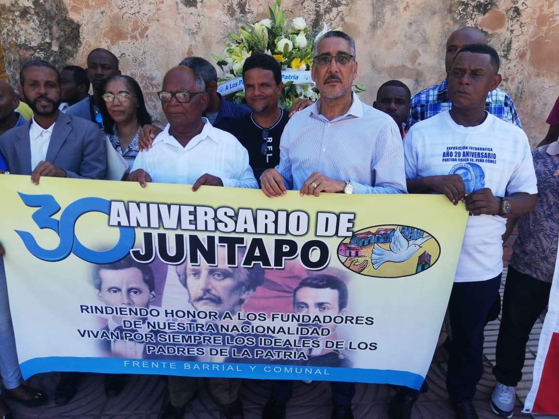 JUNTAPO celebra 30 aniversarios de su fundación