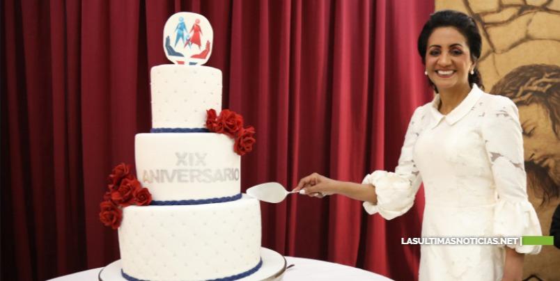 Cándida Montilla de Medina destaca acciones en favor de niños, mujeres, familias e inclusión, al celebrar 19 aniversario