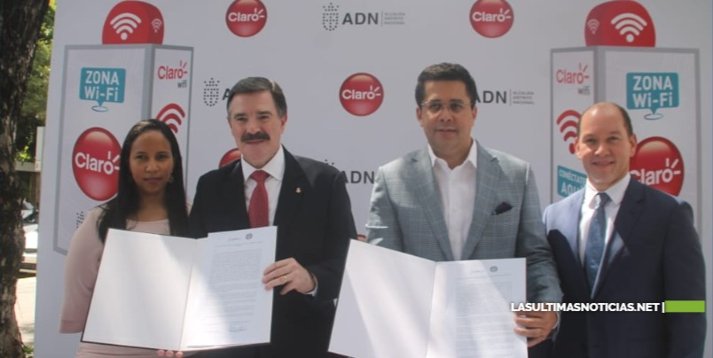 ADN y Claro ofrecen conectividad e internet Gratuito en puntos de todo Santo Domingo.