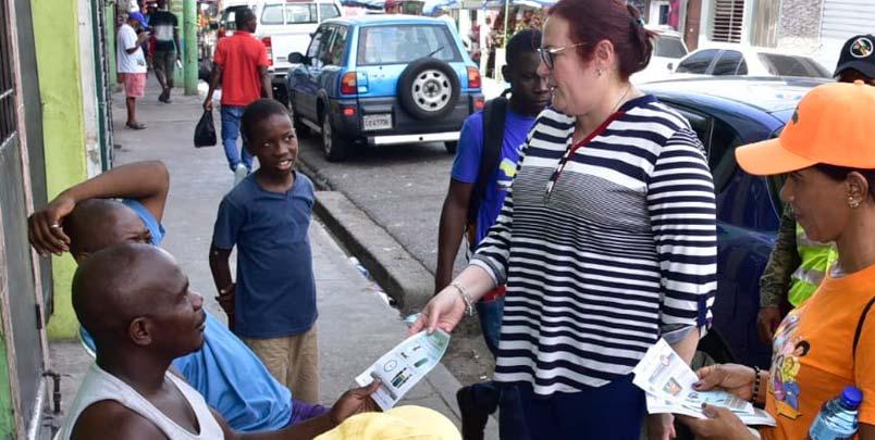 MMujer participa activamente en campaña contra el dengue