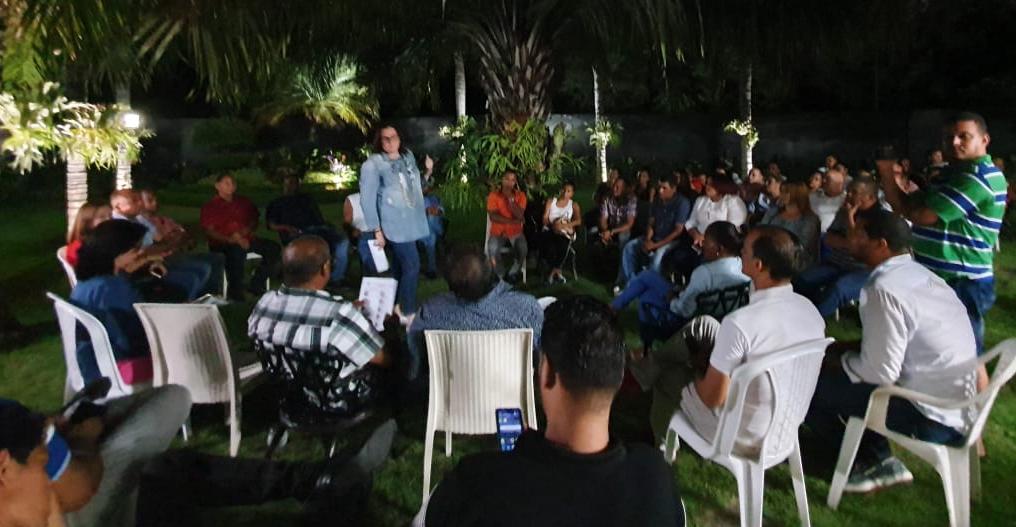 Janet Camilo juramenta Comisión Local Electoral (CLE) en Licey al Medio