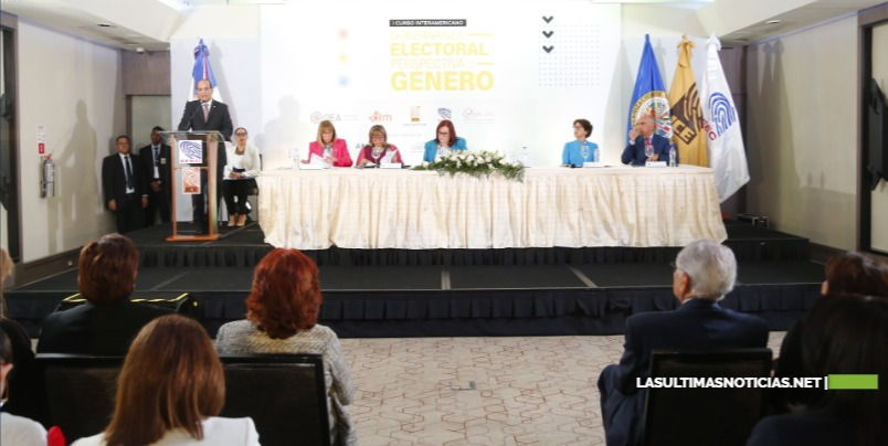 """Inicia en República Dominicana  """"Primer Curso Interamericano sobre Gobernanza Electoral con Perspectiva de Género"""""""
