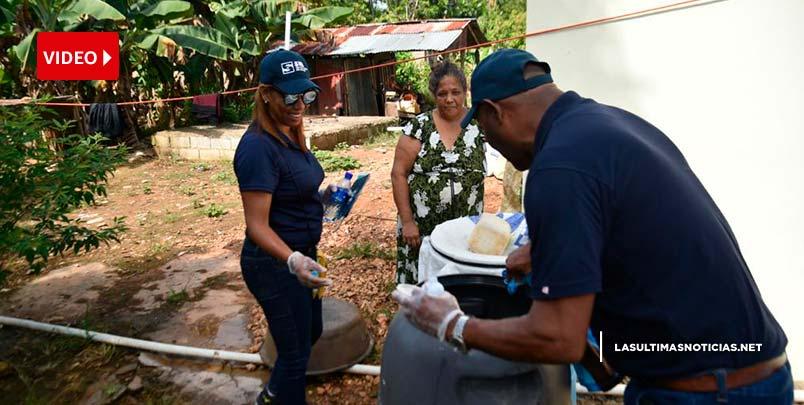 Personal SNS estuvo este fin de semana en las calles para prevenir dengue