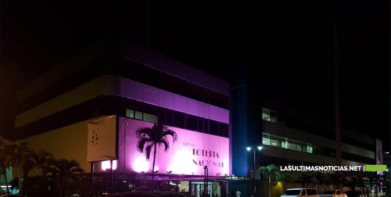 La  Lotería Nacional: Concientización contra el cáncer de mama.