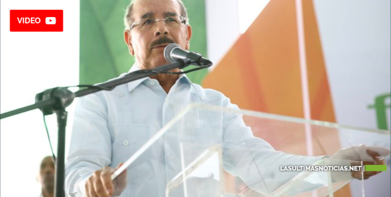 Danilo Medina se dirige a productores agropecuarios