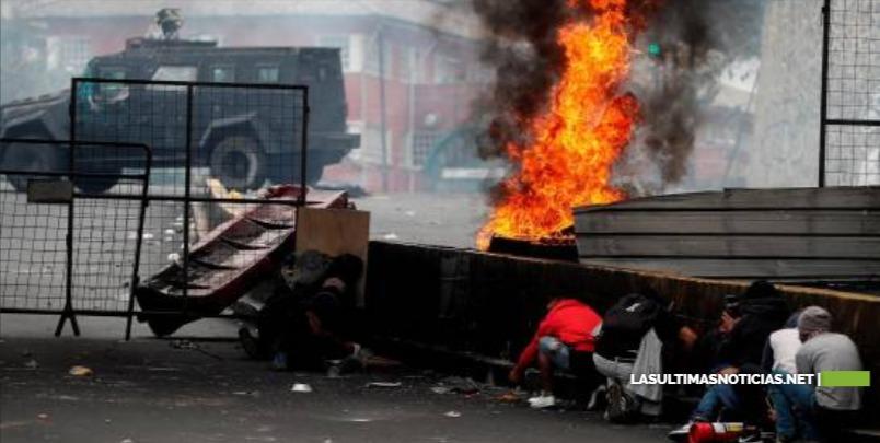 Cinco muertos, 554 heridos y casi 1,000 detenidos en las protestas de Ecuador