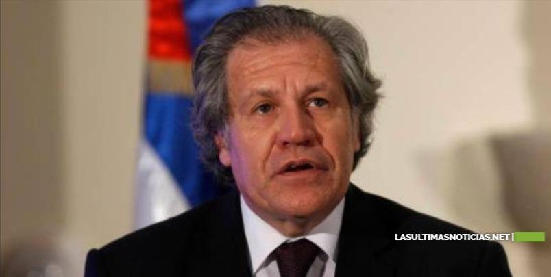 Almagro: 'Sanciones más fuertes a dictadura venezolana son imprecindibles'