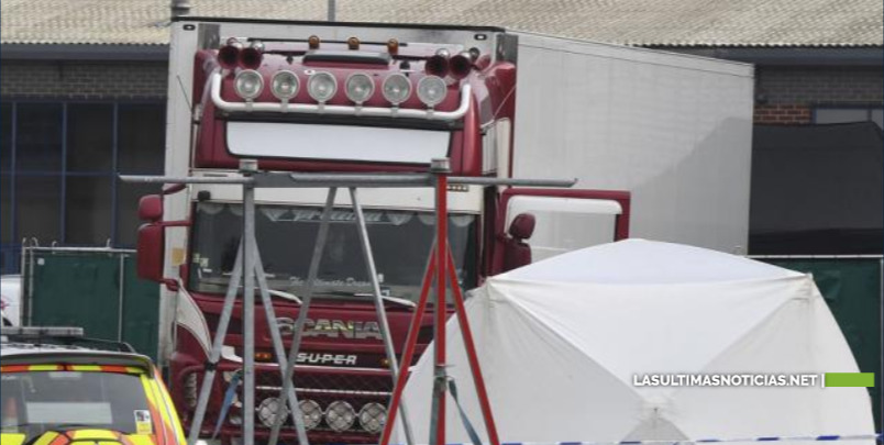 39 muertos dentro de un camión en inglaterra