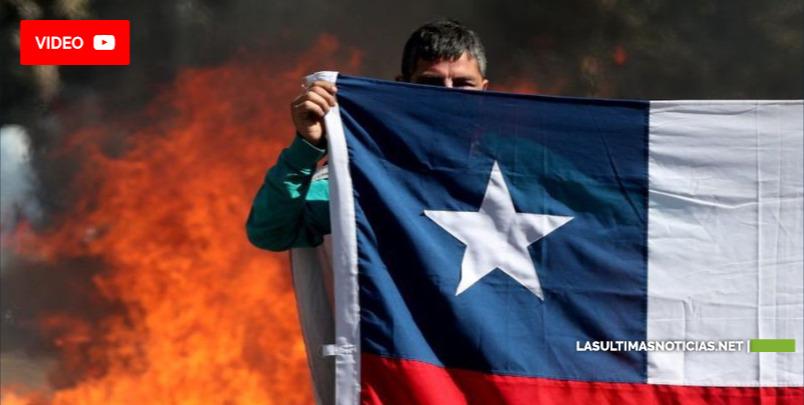 Chile: 3 peruanos muertos durante masivas protestas