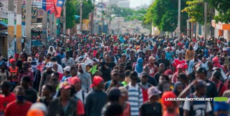 Miles de haitianos volvieron a las calles a exigir la renuncia del presidente Moise