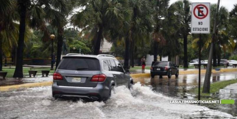 Vaguada continuará incidiendo este jueves; el COE mantiene alerta sobre el DN y 16 provincias