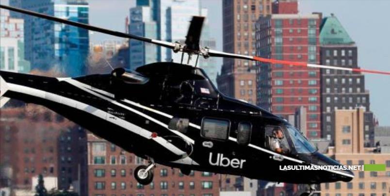 Uber estrena servicio de helicópteros en Nueva York