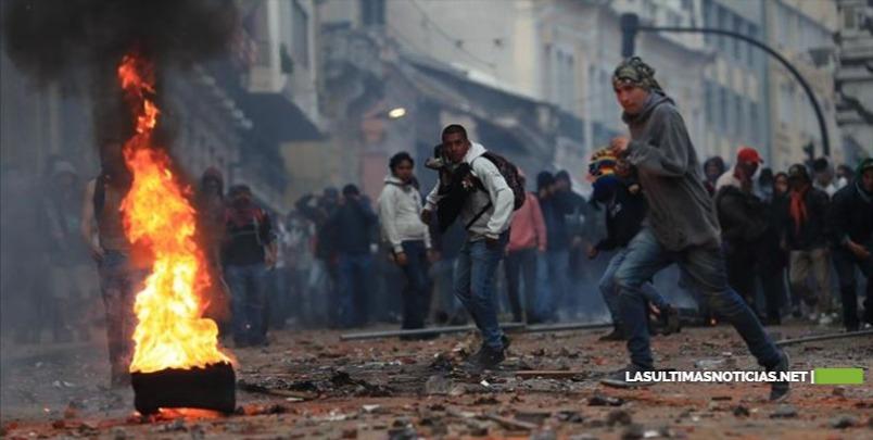 Asciende a dos la cifra de muertos por las protestas contra Gobierno en Ecuador