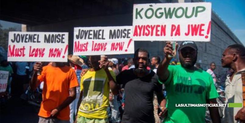 La oposición haitiana promete proseguir las protestas hasta que caiga Moise